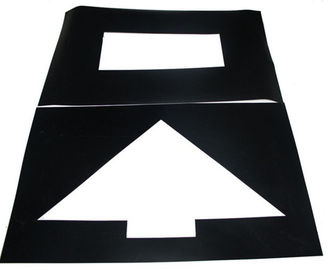 Good Quality Plastic Step Stool & Parking Lot Symbol PVC Stencil Rectangle For Symbol Mark Printing Spurt Draw on sale