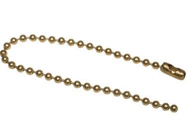 Good Quality Plastic Step Stool & Ball Chain Necklaces Beaded Split Key Rings 100 PK Steel Number 3 Brass Plated on sale