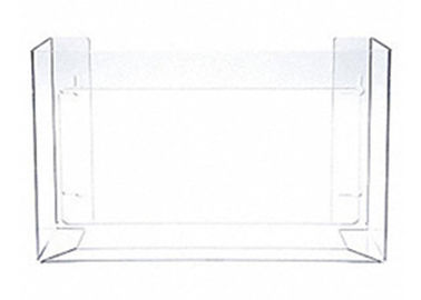"Clear Glove Dispenser Holder 15-15/16"" Width Eco - Friendly PETG Material"