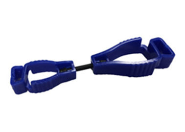 Construction Workers Glove Keeper Clips , Dark Blue Safety Glove Clips